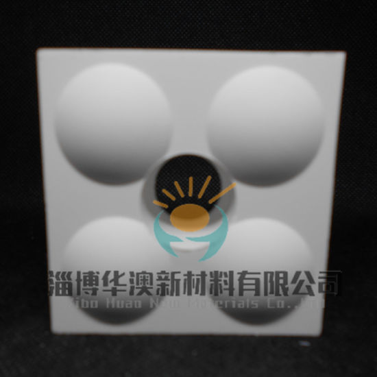 Wear Resistant Alumina Ceramic Tile for Industrial Wear Solutions with 95% Alumina