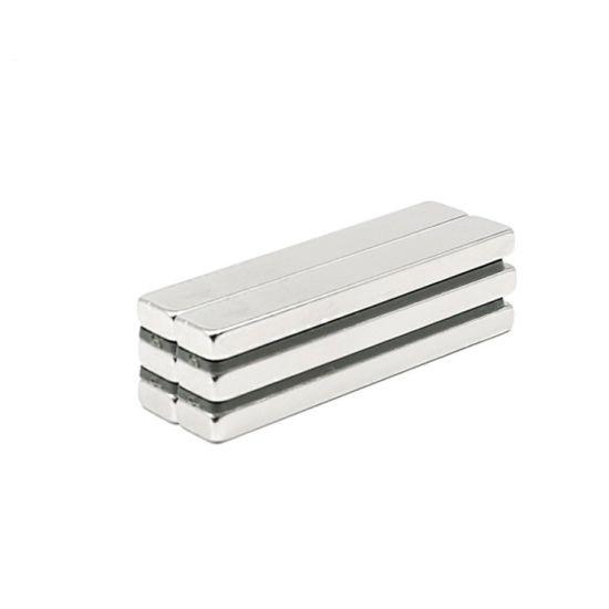 N42 Neodymium Rectangular Bar NdFeB Rare Earth Permanent Magnets for Motor