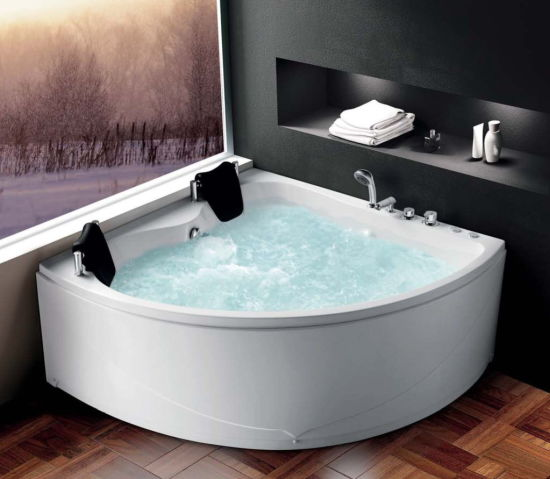 Acrylic SPA Bathtub with Massage, Air Bubble Function pictures & photos