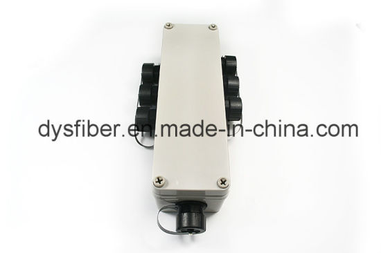 Ftta Armored Waterproof Patch Cord with Multi Port (MTP/MPO/LC/SC) Odva Terminal Junction Box pictures & photos
