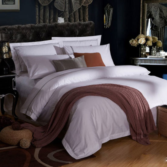 New Arrival Cotton Bed Linen for Hotel Textile Bedding Set pictures & photos