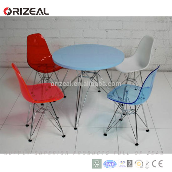 Home Furniture Designer Eames Dsw Side Dining Plastic Chair (OZ-1152) pictures & photos