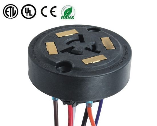 ANSI C136.41 Waterproof 7 Pin 5 Pin Dimmable Photocontrol Receptacle Socket for Lighting
