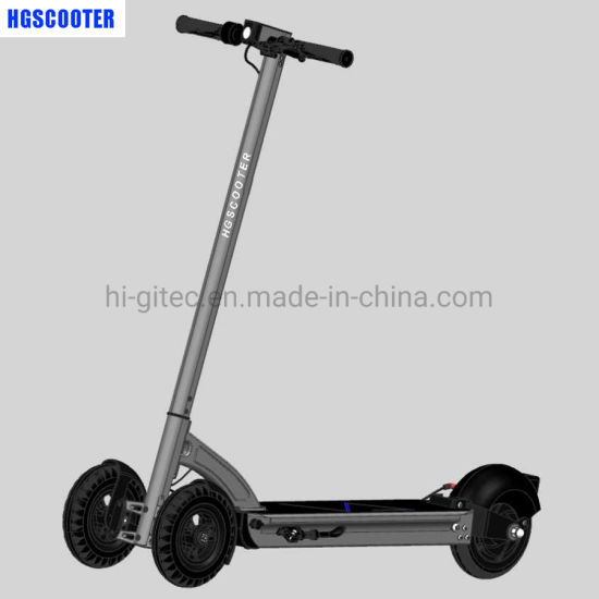 2019 Newest Shared GPS Front 2 Wheels Unfoldable Electric Scooter with 4G Iot-- Hg-T8