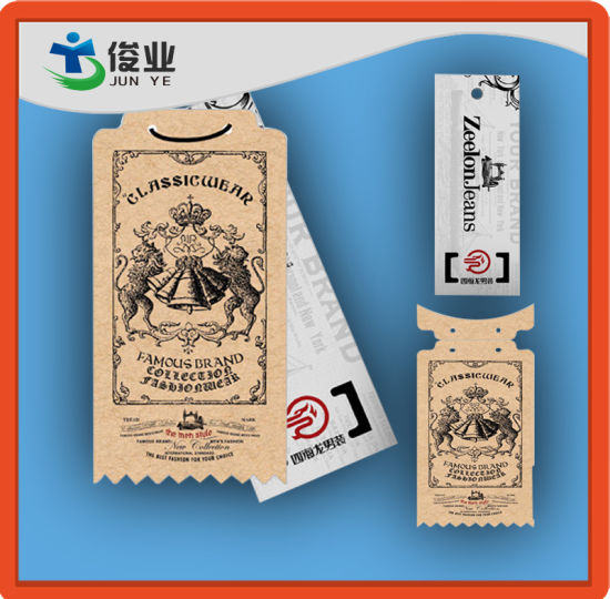 china classic origin jeans hang tags for famous brand china hang
