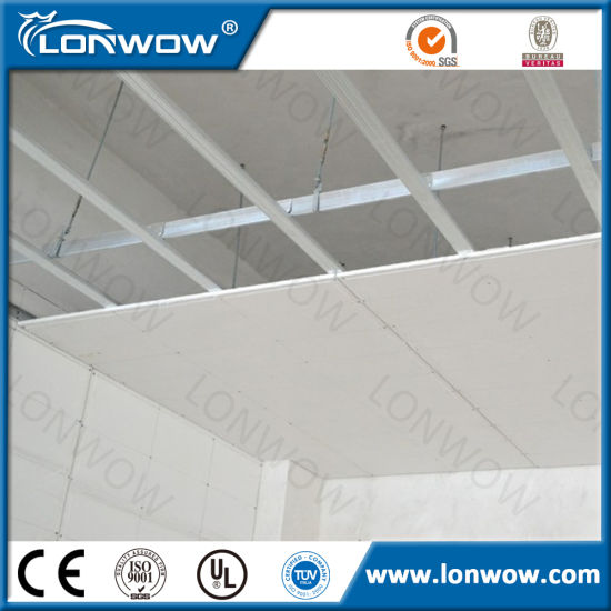 china gypsum board false ceiling price china gypsum