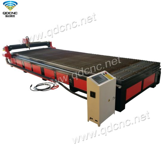 2000mm*6000mm CNC Plasma Cutting Machine with Start Controller Qd-2060 pictures & photos