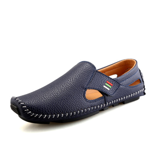 Slip-on Anti-Slip Durable Pure Color Flat Casual Canvas Man Shoes
