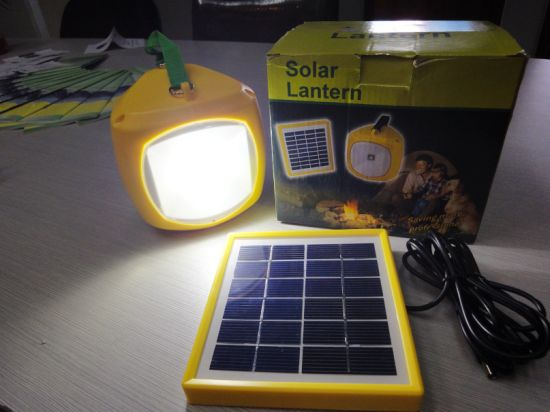 Portable Solar Lantern LED Lamp for Outdoor Camping Lighting Fixture pictures & photos