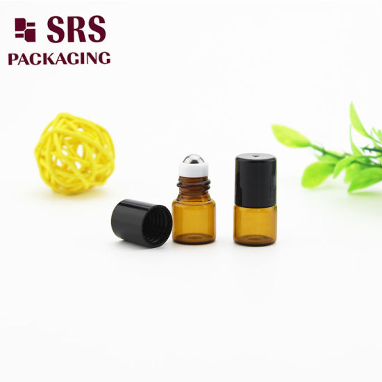 a855f1eb4769 China SRS Super Mini Amber Glass Roll on Bottle for Oil - China Roll ...