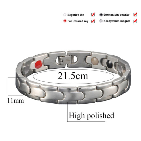 Fashion 316L Stainless Steel Magnetic Jewelry for Lady with Magnetic pictures & photos