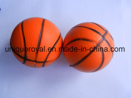 Hotselling Stress Reliever Soft & Squeezable Basketball pictures & photos