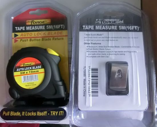 Tape Measure Auto Lock Measuring Tools/Hand Tools pictures & photos