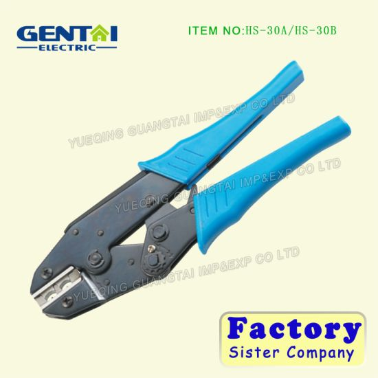 China Insulated Wire End-Sleeve Plier Terminal Ratchet Cable ...