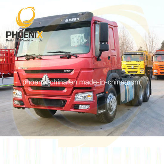 Promotion Price 375HP 6X4 Sinotruk HOWO 10tyres Used Horse Tractor Truck with Strong Quality for Africa Sales
