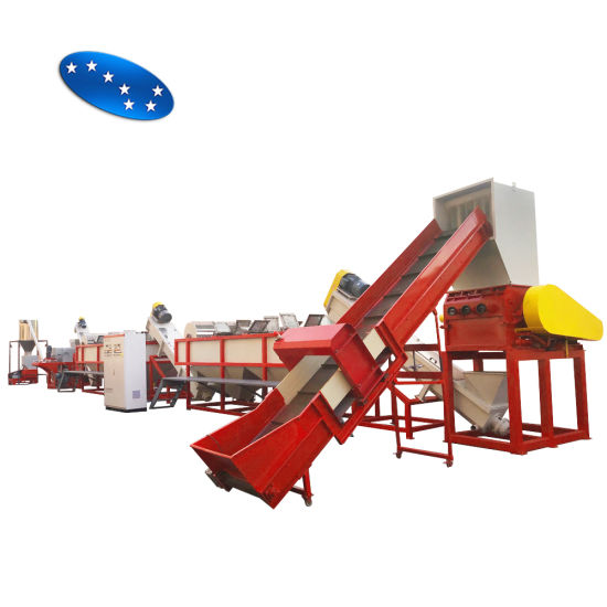 High Recovery Rate PE PP Waste Recycling Plastic Washing Machine
