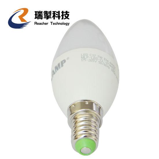 Reacher Free Sample Promotion Sales LED Bulb Lamp E27/E26/B22/E14 3/5/7/9/12/18W LED Candle Light Home/Hotel/Bar Decoration 170-240V
