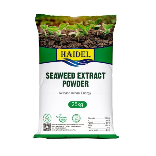 Organic Agriculture Water Soluble Seaweed Kelp Extract Bio Foliar Powder Fertilizer