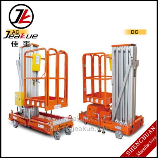 Hot Sale! Movable Electric Aluminium Alloy Aerial Work Platform pictures & photos