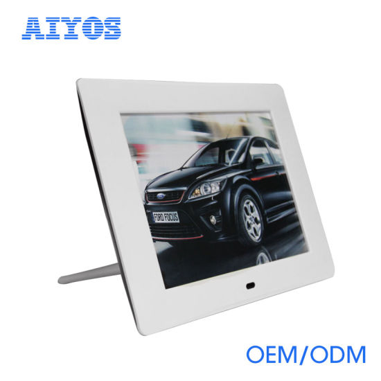China Video Playback 8 Inch LCD Digital Picture Frame - China ...