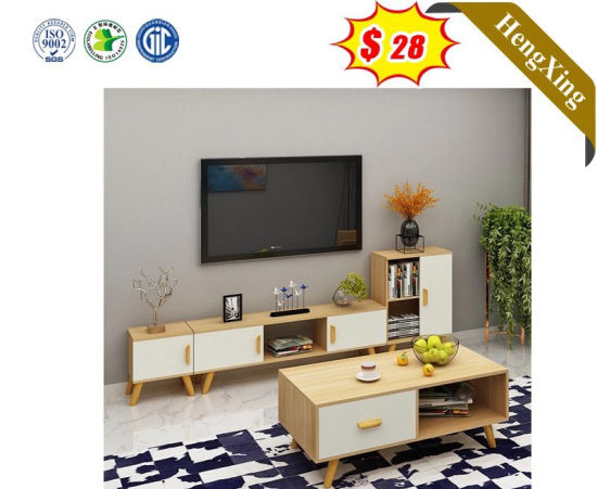Cheap Price Panel Furniture Living Room TV Stand with MDF