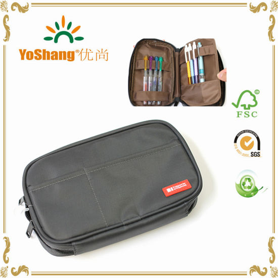 Large Capacity Stationery Pen Bag for Students / Pencil Cases