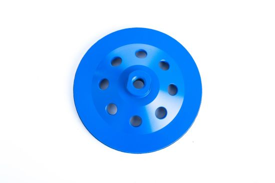 Diamond Cutting Tools Waved Spiral Grinding Disc Cup Wheel