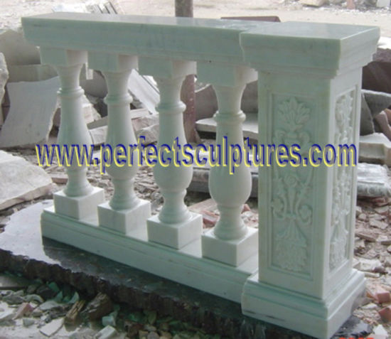 Stone Marble Granite Stair Baluster with Railing Handrail (LG028) pictures & photos