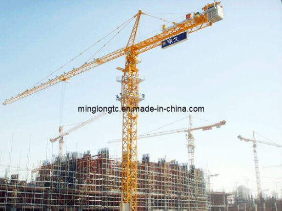 Topkit Hammer Head Construction Self-Erecting Tower Crane Qtz63 (TC5013) -Max. Load 6t pictures & photos