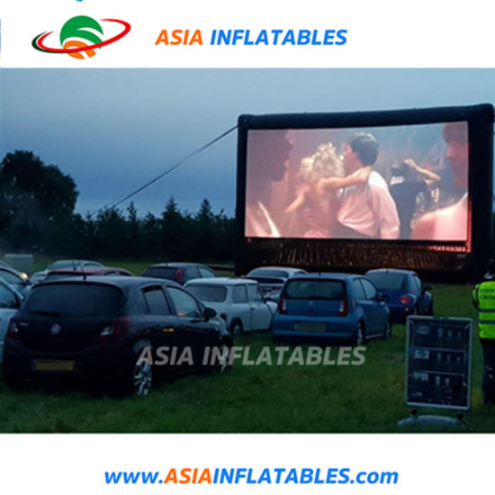 Open Air Theater Projection Movie Screen Inflatable Outdoor for Drive-in Cinema