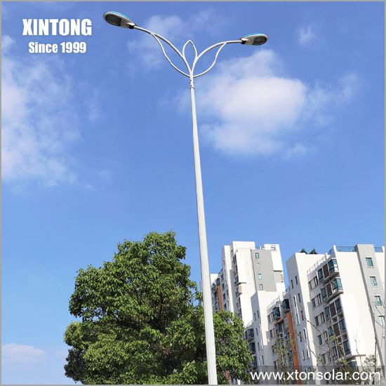 LED Screen Street Light Pole