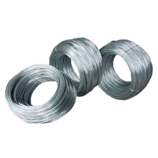 Spool Packing Alambre 14 Galvanizado Fence Wire Low Carbon Iron Wire