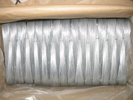 Galvanized U Type Wire 0.8mm for Binding in Construction pictures & photos