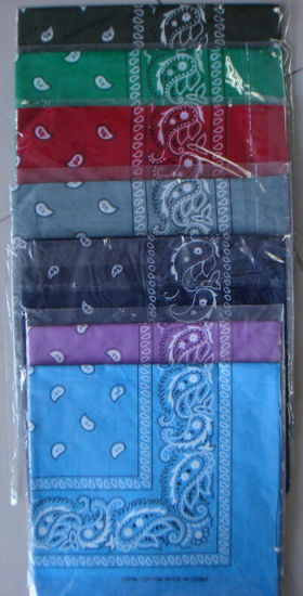 Fashion Customized 100% Cotton Printed Bandana pictures & photos