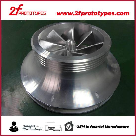 5 Axis Large Volum Aluminum CNC Machine Parts