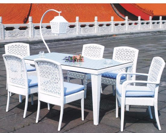 High Quality Wholesale Price Rattan Furniture Offers Table and Chairs