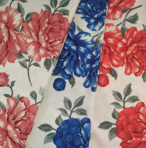 Hot Selling 97% Polyester 3% Spandex Stretch Printed Knitted Fabrics