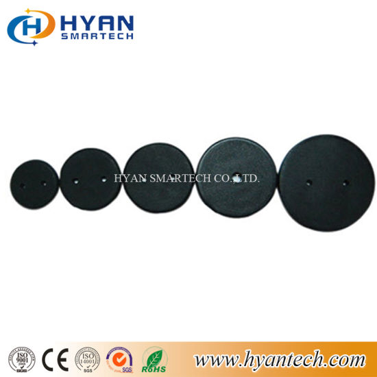Mini Size Dia 13mm 15mm 16mm 18mm High Temperature Sensor RFID PPS Laundry Tag