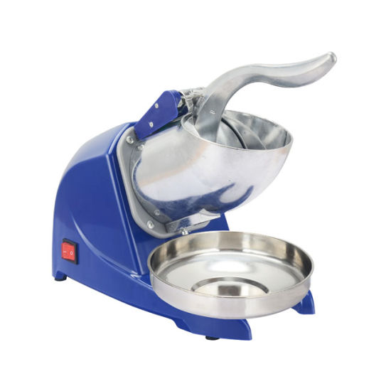 Commercial Stainless Steel Electric Blue Color Snow Ice Machine Ice Crusher