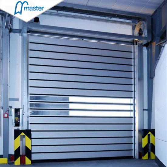 Commercial Logistics Dust Proof Metal Aluminum Spiral High Speed Fast Door