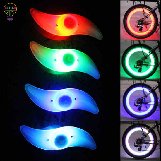 Cool Bike Wheel Lights Used for Safety Warning