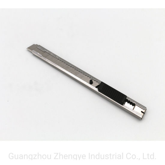 9mm Mini Auto Lock Utility Knife with Metal Sheath