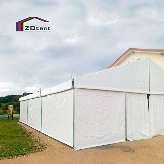 Temporary Party Tent Outdoor Waterproof PVC Coated Event Tent