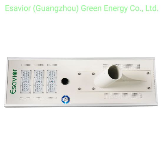 195lm/W Integrated LED Solar Street Light with Iot Online Monitoring System