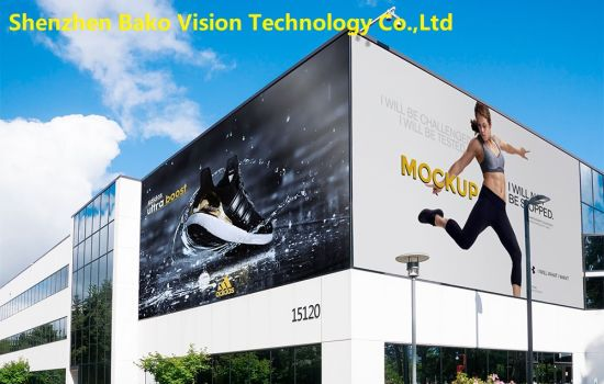 P8 P10 Outdoor LED Advertising Billboard Screens LED Panel Wall LED Tvs Full Color High Brightness 1920Hz