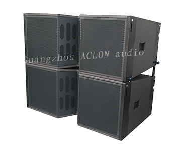 "Double 12"" Full Range PRO Audio System, Line Array Speaker"