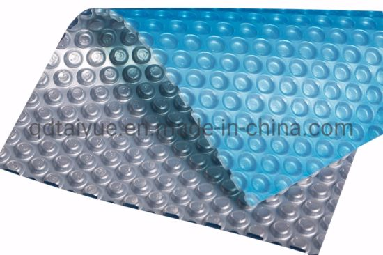 China Factory Solar Swimming Pool Covers with Double Color