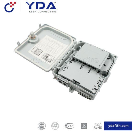 FTTH IP65 Outdoor Box 12 Port Fiber Optic Plastic Box Distribution Terminal Box