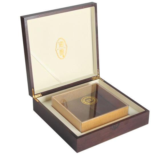 Bamboo Products Custom Logo Eco-Friendly Luxury Unfinished Packing Fashion Storage Box