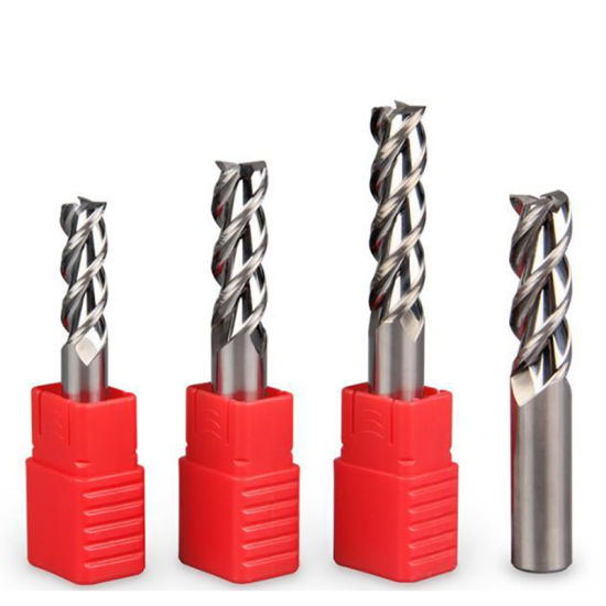 Carbide Spiral Single One Flute End Mill Milling Cutter Cutting Tools for Plastic Wood Aluminium pictures & photos